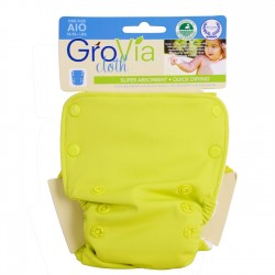 GroVia All-In-One Citrus, knappar