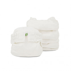 Plain White Newborn gPant 6-pack