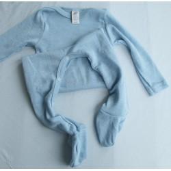 Pyjamas i ull/silke GOTS-certifierad